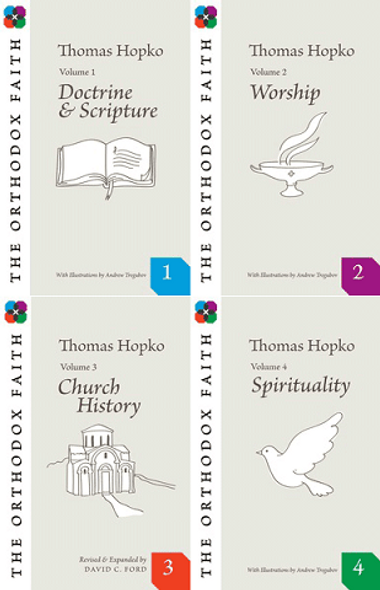 Orthodox Faith 4 Vol. Set by Fr. Thomas Hopko