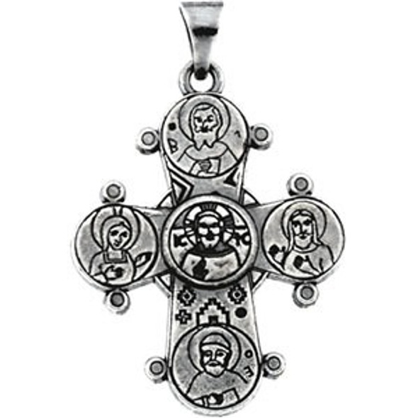 Dagmar Cross, sterling silver, chain included