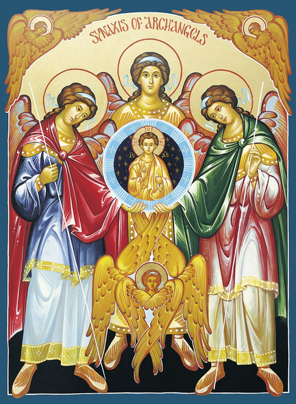 Synaxis of Archangels, large icon
