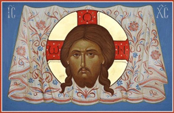 Christ Mandylion, large icon