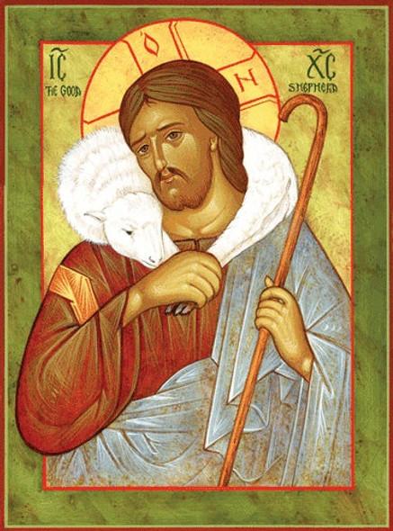 Christ the Good Shepherd, medium icon