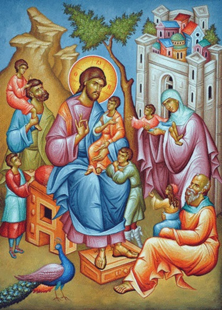 Christ Blessing the Children, large icon
