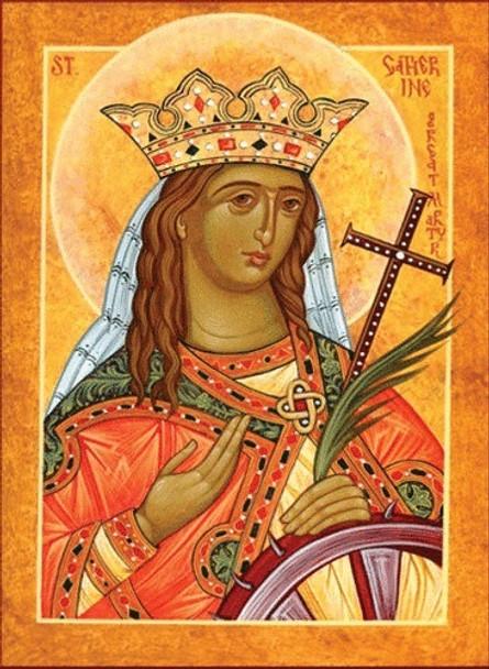 Saint Catherine, large icon
