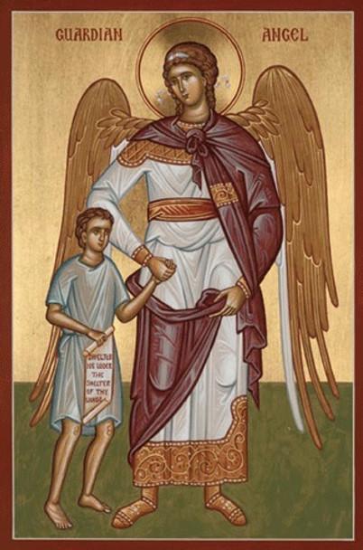 Guardian Angel with Boy, medium icon