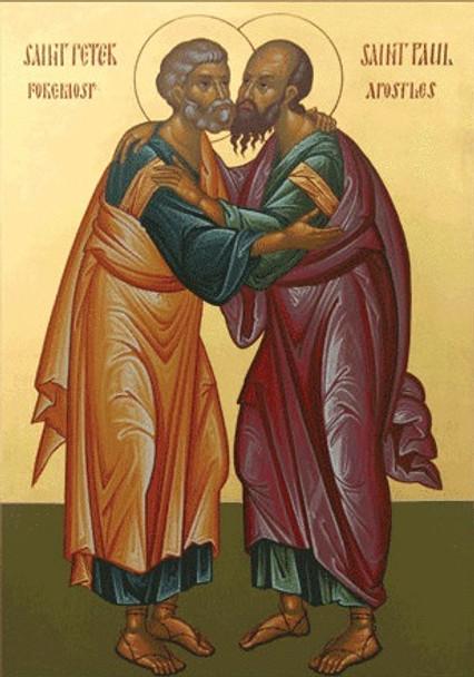 Saints Peter and Paul, medium icon