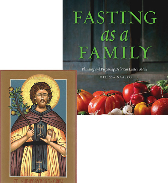 For the Cook: Fasting as a Family / St. Euphrosynos the Cook, medium icon