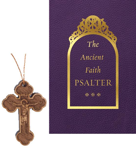 Psalter Gift Set: The Ancient Faith Psalter / Wood Neck Cross
