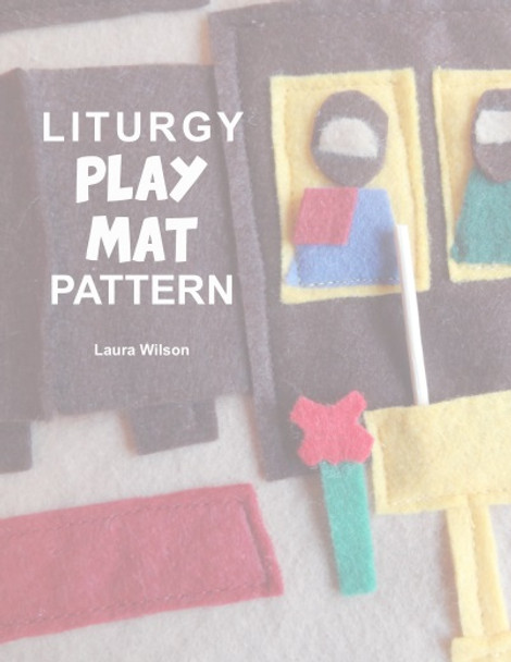 Orthodox Liturgy Play Mat Pattern, downloadable pdf