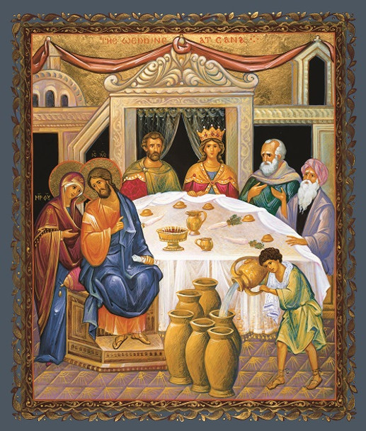 The Wedding at Cana, large icon