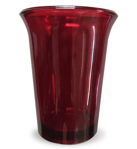 Vigil Glass, red