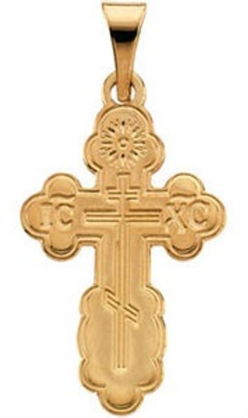 008174-XL St. Olga Cross, 14k yellow gold, extra-large