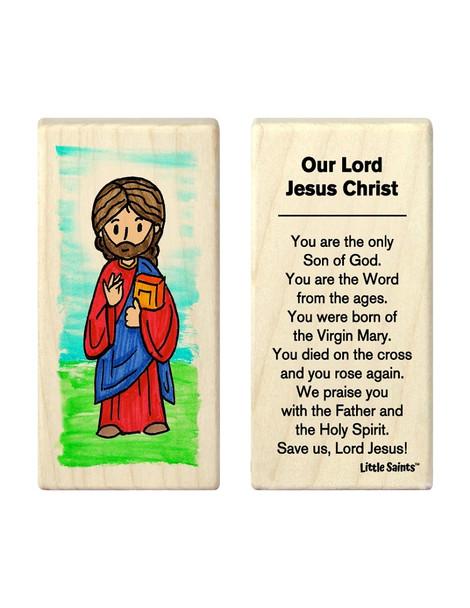 Little Saints Jesus Christ Individual Block