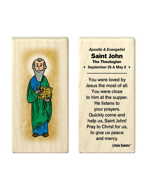 Little Saints Saint John the Theologian Individual Block