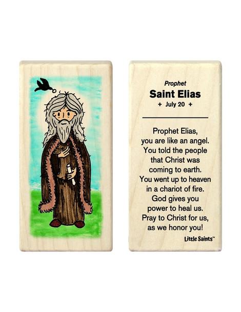 Little Saints Saint Elias (Prophet Elijah) Individual Block
