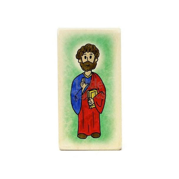 Little Saints Apostle Luke Individual Block