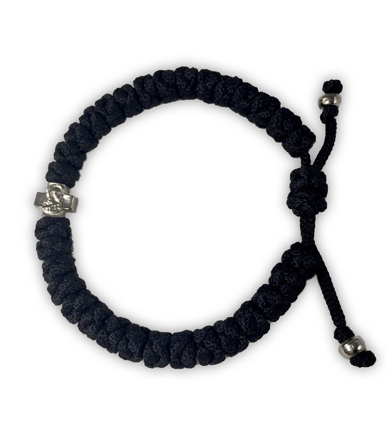 Prayer Rope Bracelet, 33 knot expandable XXL