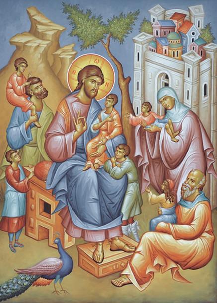 Magnet, Christ Blessing the Children