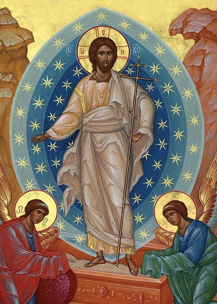 Risen Christ, individual card
