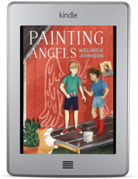 Painting Angels (Sam and Saucer, Book 3) by Melinda Johnson