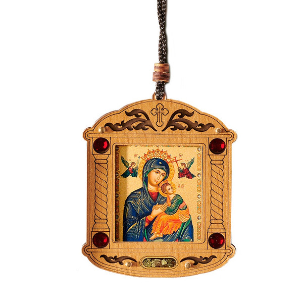 Ornament, Perpetual Help with incense