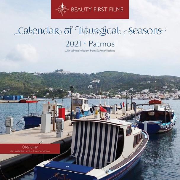2021 Calendar of Liturgical Seasons, Patmos (Julian version, old calendar)