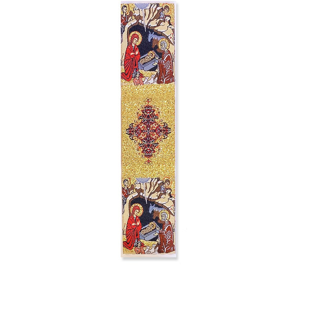 Tapestry bookmark, The Nativity of Christ