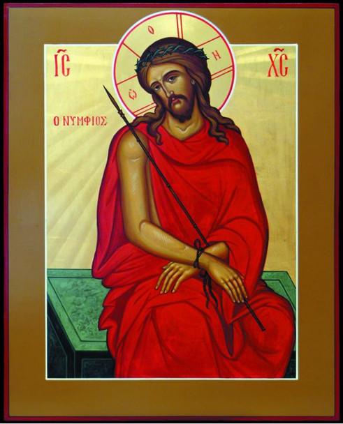 Christ the Bridegroom, large icon