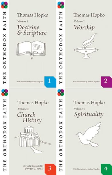 Orthodox Faith 4 Vol. Set by Fr. Thomas Hopko