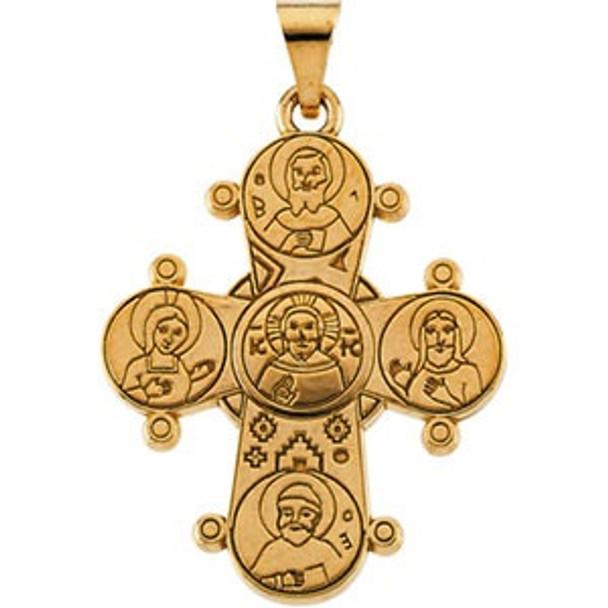 Dagmar Cross, 14k yellow gold