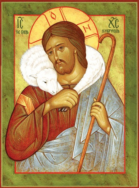 Christ the Good Shepherd, large icon