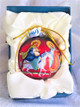 Ornament, Flight to Egypt icon ball ornament inside presentation gift box