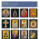 2020 Icon Calendar, Icons of Christ our Lord, icons by month