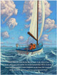 Laurel and the Wind. A children's book by Gaelan Gilbert, illustrated by Ned Gannon.  Inside page.