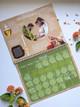 2022 Orthodox Children's Calendar: A Life in Christ, sample month