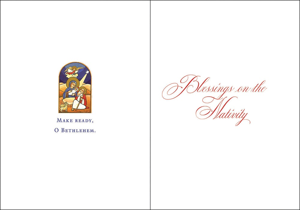 Welcoming Christ Christmas Cards
