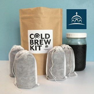 Shop Ancient Faith Blend Cold Brew Coffee Kits at Wanderlust Coffees!