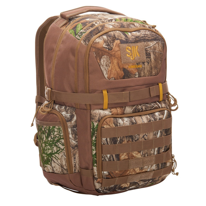 Slumberjack Sage 32 backpack, Realtree Edge print,  front view