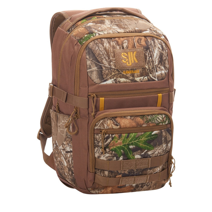 Slumberjack Deadwood 30 Backpack, Realtree Edge print, front view