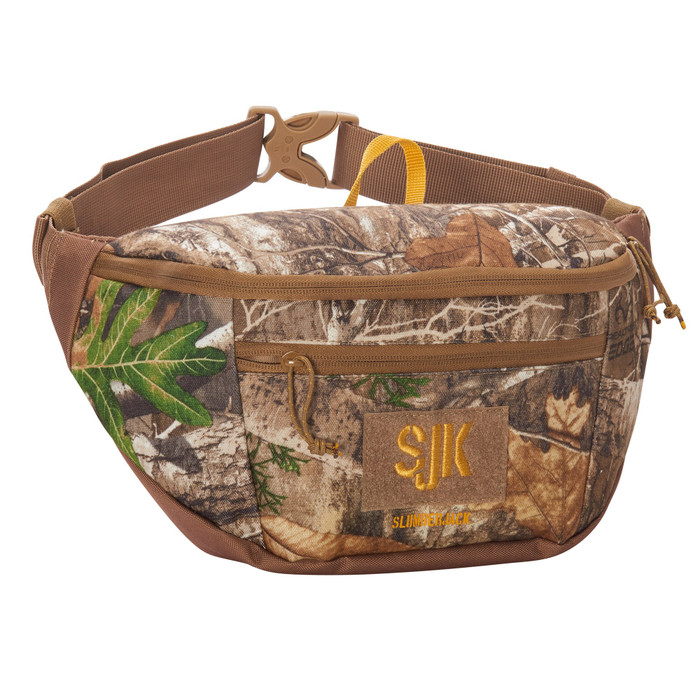 Slumberjack Brushline 9 waist pack, Realtree Edge print, front view