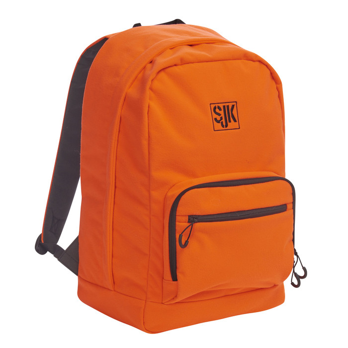 Slumberjack Spotter Blaze 30 backpack, bright orange, front view