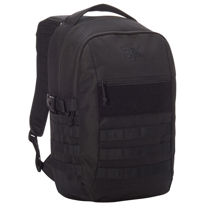Slumberjack Chaos 20 backpack, black, front view