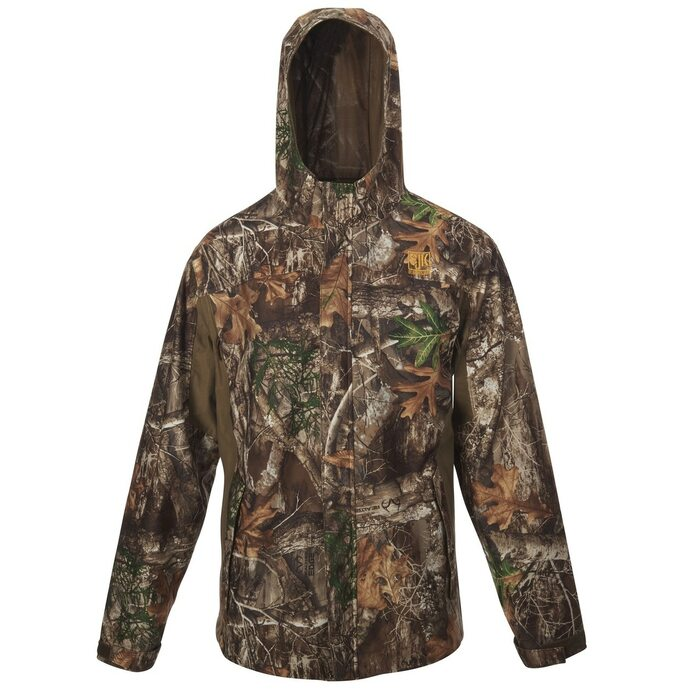 Slumberjack Reticle Jacket, Realtree EDGE Camo, front view
