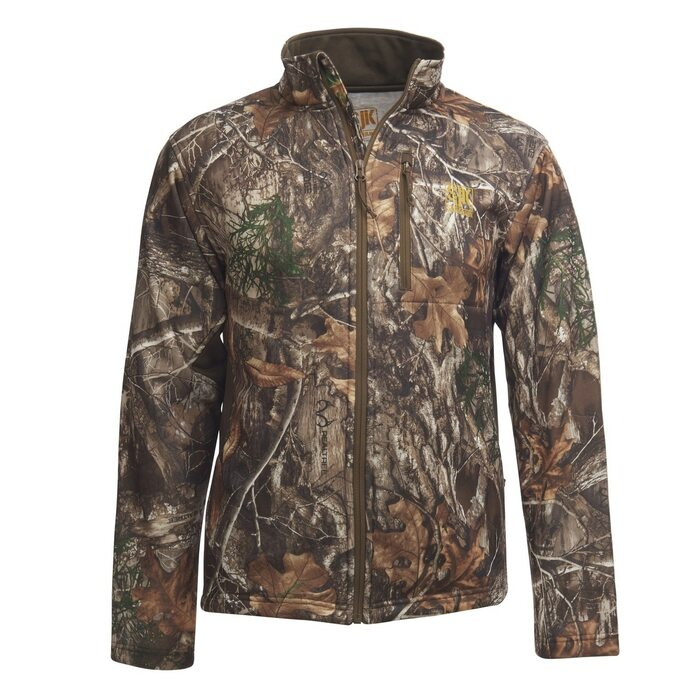 Slumberjack Broadhead Jacket, Realtree EDGE Camo, front view