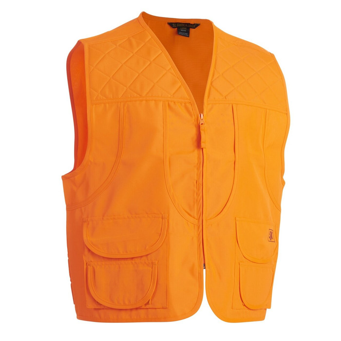 SJK Flight Vest, orange, front view