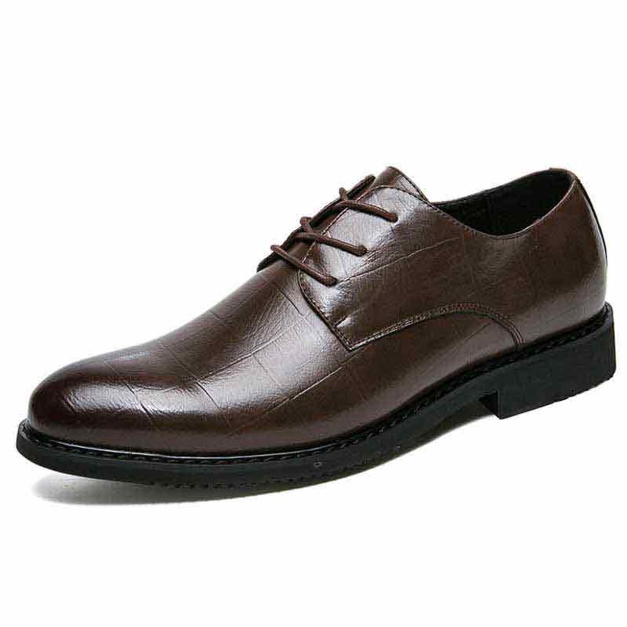 dark dress shoes
