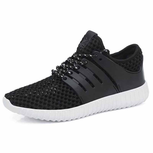 black casual hollow out shoe sneaker  womens sneakers
