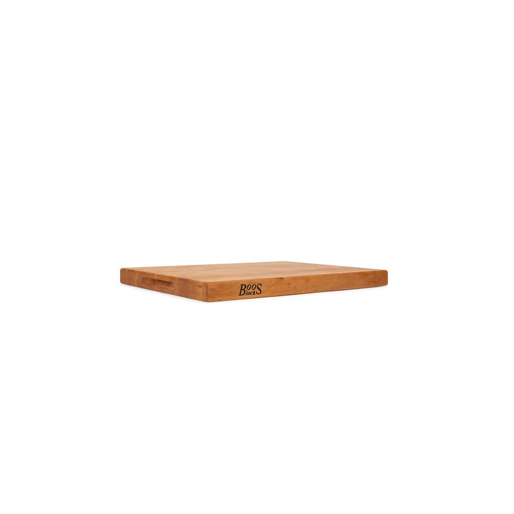 "John Boos Cherry R Cutting Board - 20""x 15""x 1-1/2"""