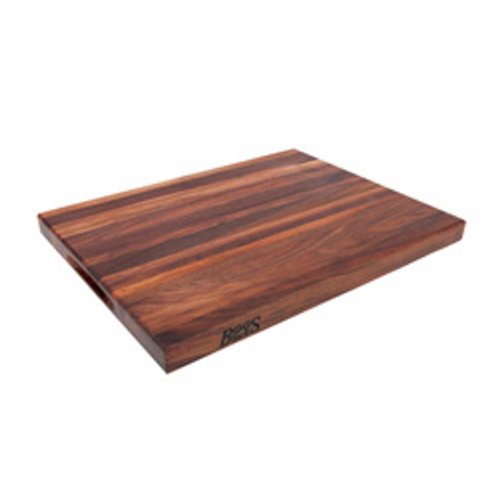 "John Boos Walnut R Cutting Board - 20""x 15""x 1-1/2"""
