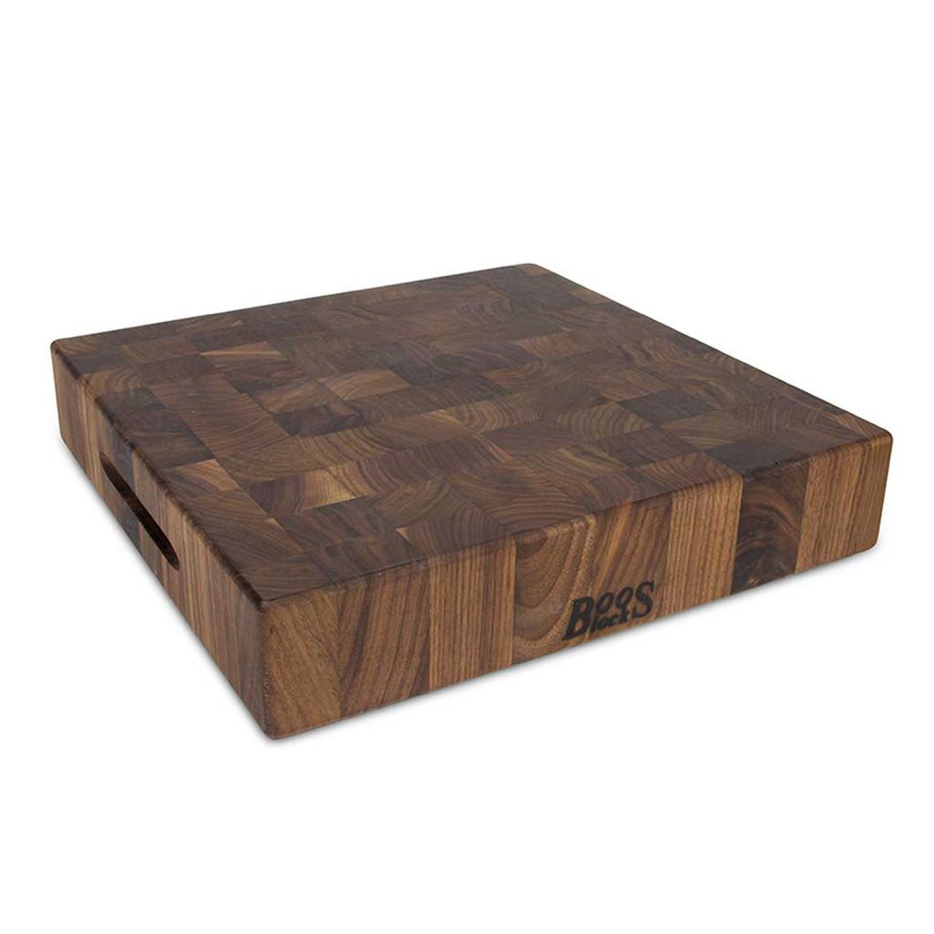 "John Boos Walnut Chopping Block - 15""x 15""x 3"""