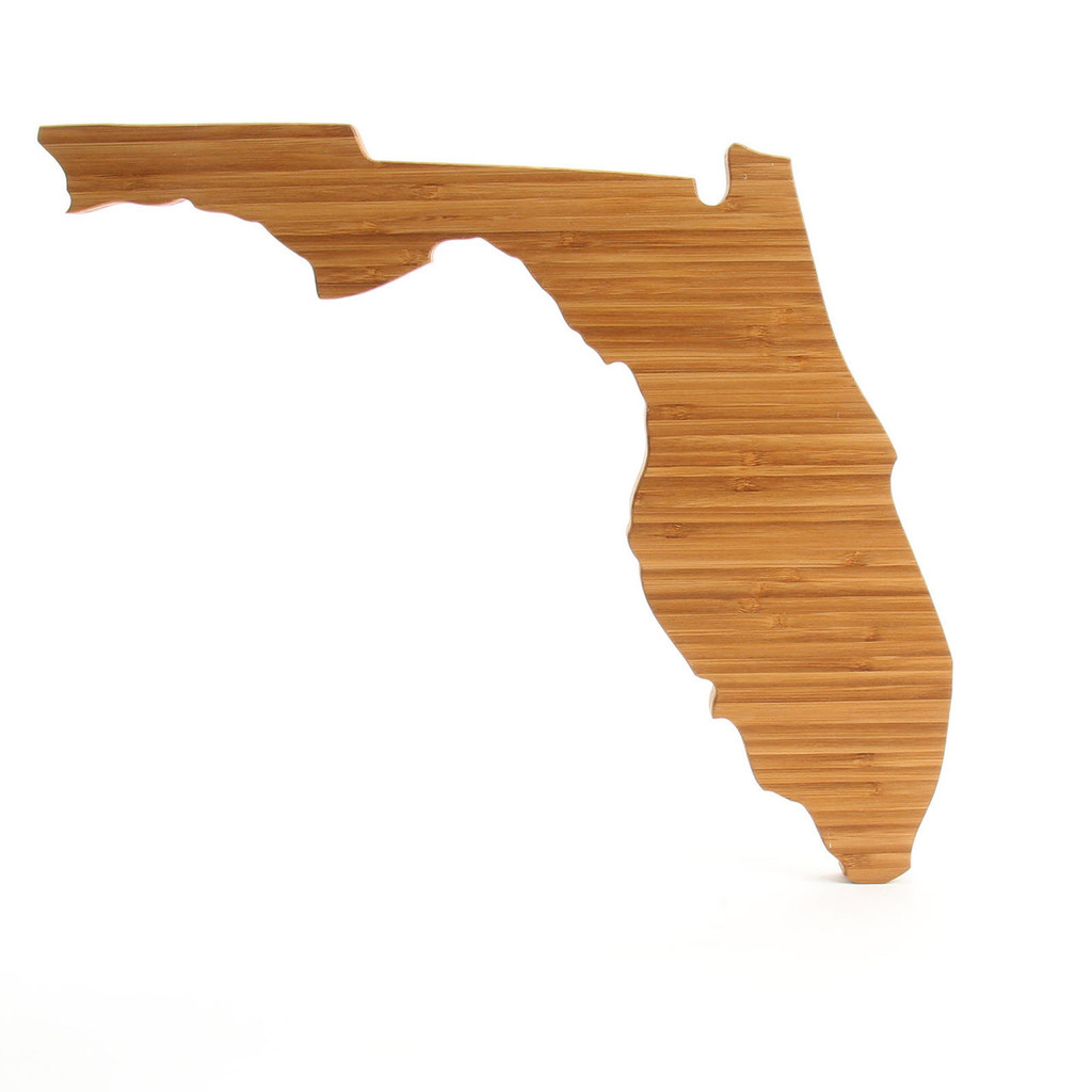 Florida State Shaped Cutting Boards
